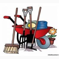 Уборка расчистка участка, территории, вывоз мусора, демонтаж, разнорабочие покос травы