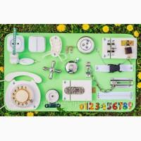 Доска для развития Бизиборд 30*50 см подарок на годик