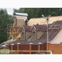 Монтаж битумной черепицы (мягкой кровли) в Скадовске