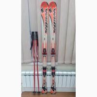 Продам лыжи Rossignol 4cross 162 см + ботинки Rossignol 27, 5 + палки