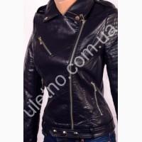 Куртки женские кожзаменитель (эко-кожа) оптом