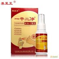 Спрей Иганержинг китайский при грибке ног и кожных болезнях