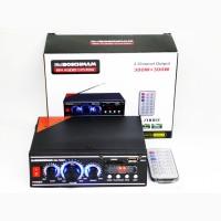 Усилитель BM AUDIO BM-700BT USB Блютуз 300W+300W 2х канальный