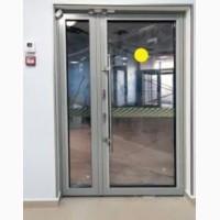 Алюминиевые двери. Входная группа дверей. Тёплые двери с надёжным замком