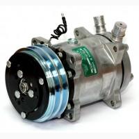 Компрессор кондиционера 5H14 (508) 12 V 2A Диаметр шкива: 132, 00 мм Вертикальные