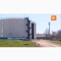Понтоны для резервуаров с нефтепродуктами, Установка понтонов Ultraflote Corp. (США)