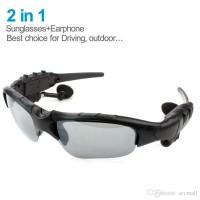 Bluetooth наушники с микрофоном очки Sunglasses LK-086