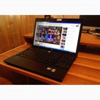 Игровой, производительный 4-х ядерный ноутбук HP4520s