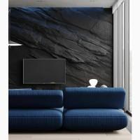 Емітація дикого скелі (камінь) #фактура в интерьере #имитация скалы