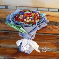Съедобный букет из сухофруктов и орехов в Днепре
