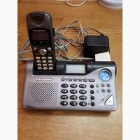 Продам радиотелефон Panasonic цифровой беспроводный с автоответчиком