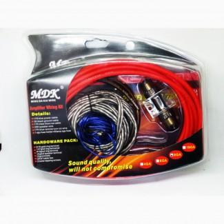 Набор проводов для усилителя / сабвуфера MDK 8GA