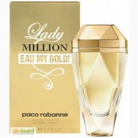 Paco Rabanne Lady Million Eau My Gold парфюмированная вода 80 ml. Пако Рабанна Леди