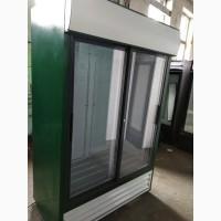 Шкаф холодильный 2-дверный стеклянный бу (витрина) из Европы