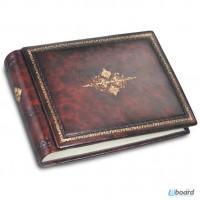 Кожаные фотоальбомы для подарка на свадьбу, деловой подарок