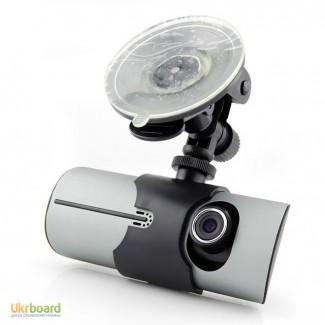 Car DVR R300 Видеорегистратор на две камеры