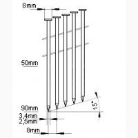 Гвоздомет универсальный Unitool CN90S под гвозди 50-90 мм