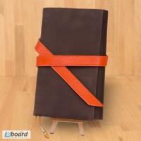 Кожаные блокноты, софтбук в подарок парню, девушке