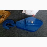 Грузовой монтажный конифаст-блок (полиспаст) 1 ролик 10 тонн