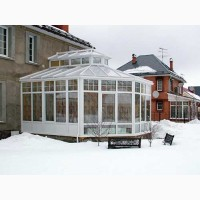 Остеклению зимнего сада тёплым алюминием с покраской от ООО Редвин Групп