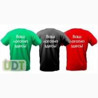 Фирменные футболки, флаги. Нанесение логотипа. Сувенирная продукция