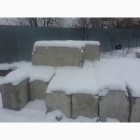 Блок бетонный, Новый, фундаментный ФБС 5, 9 шт; Плита бетонная, дорожная