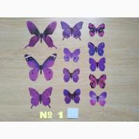 Бабочки 1 декор на холодильник
