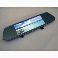 DVR L1007 Full HD Зеркало с видео регистратором с камерой заднего вида. 7 Сенсорный экран