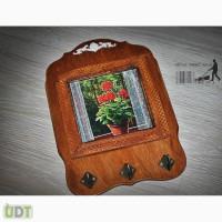 Продажа подарков ручной работы для интерьера: витражные картины, картины маслом, ключницы