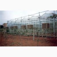 Охлаждение воздуха для ферм, теплиц и производственных помещений