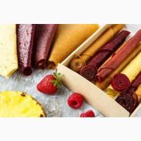 Натуральные продукты питания: пастила, чипсы