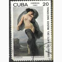 Продам марку Куба 1982 года CORREOS