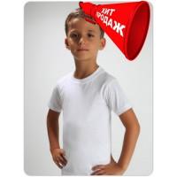 Футболка детская белая. Детская белая футболка недорого в Украине