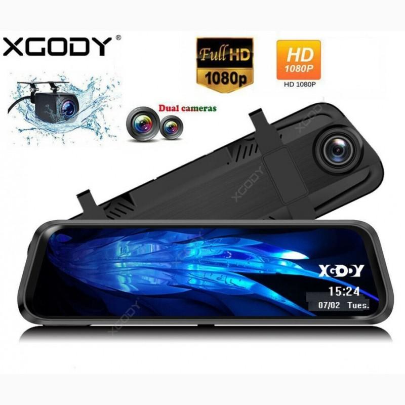 Фото 10. DVR L1028 Full HD Зеркало с видео регистратором с камерой заднего вида.11 Сенсорный экран