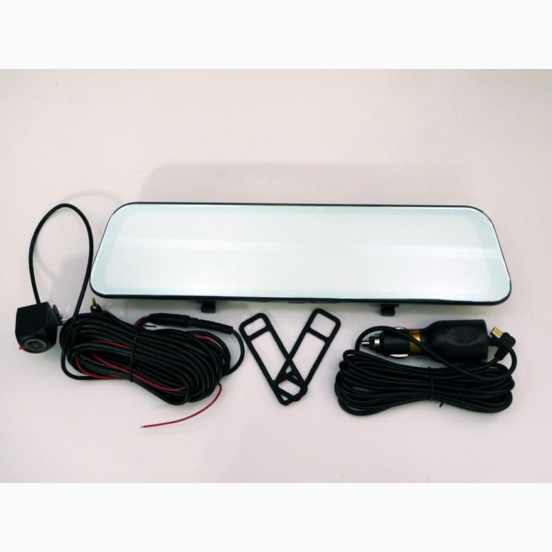 Фото 3. DVR L1028 Full HD Зеркало с видео регистратором с камерой заднего вида.11 Сенсорный экран