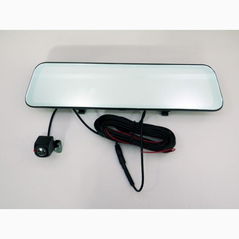 Фото 4. DVR L1028 Full HD Зеркало с видео регистратором с камерой заднего вида.11 Сенсорный экран