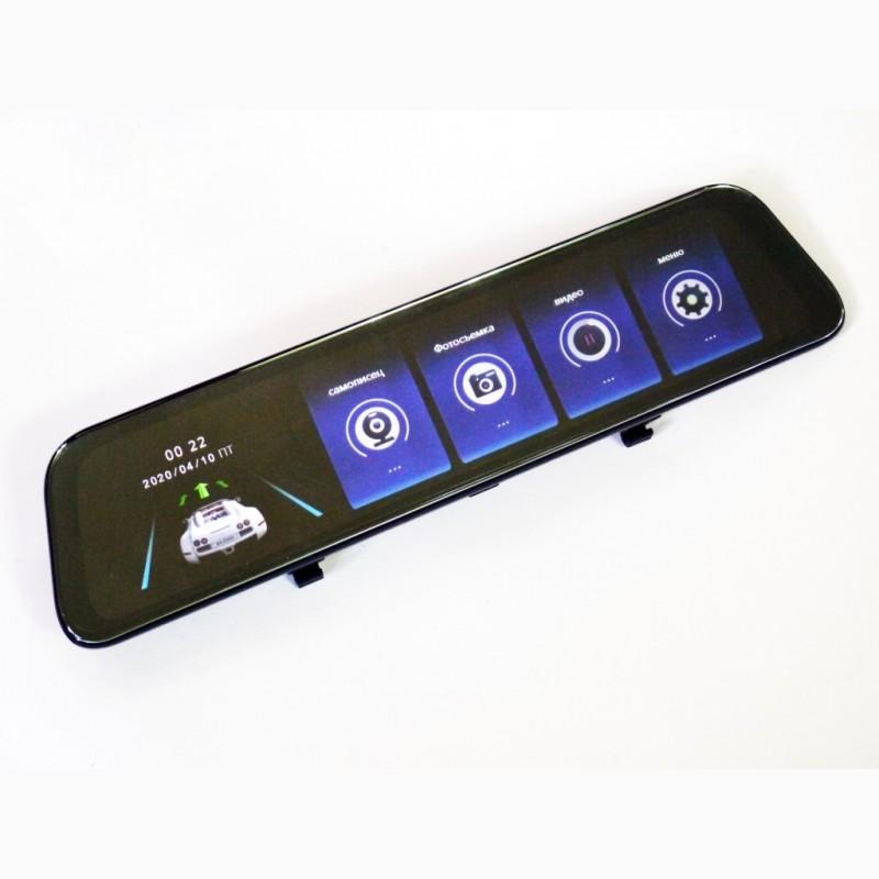 Фото 6. DVR L1028 Full HD Зеркало с видео регистратором с камерой заднего вида.11 Сенсорный экран