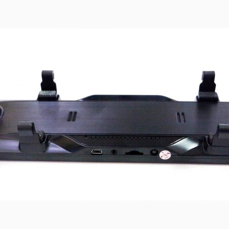 Фото 8. DVR L1028 Full HD Зеркало с видео регистратором с камерой заднего вида.11 Сенсорный экран