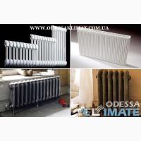 Радиаторы Одесса стальные - биметаллические - алюминиевые
