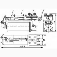 Реле РКС-3 РС4.501.201