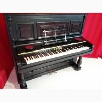 Фортепиано (пианино) отреставрированное старинное антикварное немецкое 19 век