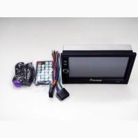 2din Магнитола Pioneer 7018 USB+SD+Bluetooth+ПУЛЬТ НА РУЛЬ (короткая база)