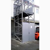 Грузовые НАРУЖНЫЕ подъемники (лифты) – выгодные помощники в производстве г/п 1000 кг