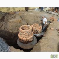 Копка траншей (канализация-водопровод) прокладка трубы-разводка. Уличные работы под ключ