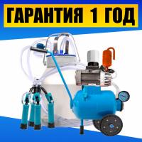 Масляный доильный аппарат Буренка-1 Стандарт. Апарат доїльний + бідон