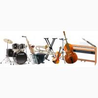 Аренда, прокат музыкальных инструментов в Киеве