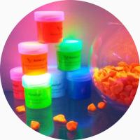 Светящаяся краска для творчества AcmeLight. Новинка