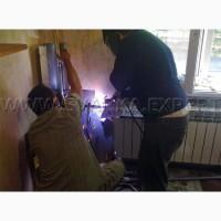 Отопление, водопровод, замена стояков Киев