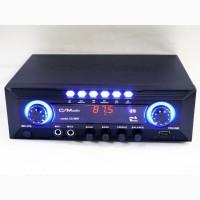 Стерео усилитель с LED дисплеем Bluetooth UKC Black CMaudio CS30BT