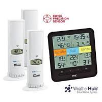 Метеостанция цифровая для дома, электронная погодная станция купить Киев, Украина